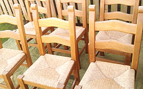 Solid Beech Chairs