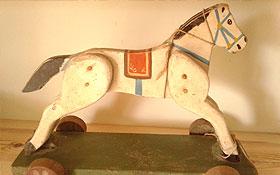 Hand-carved German Prisoner-of-War Toy