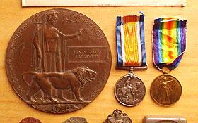 Collection of WW1 Memorabilia